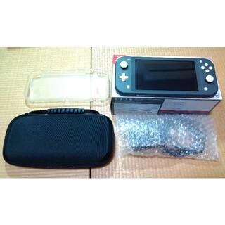 Nintendo Switch - 任天堂 スイッチライト グレー