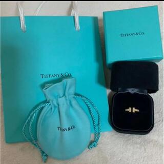 Tiffany & Co. - ティファニー Tワイヤーリング 18金