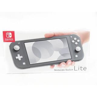 Nintendo Swich Lite ニンテンドー スイッチライト グレー