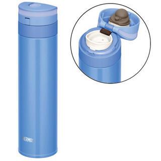 サーモス(THERMOS)のTHERMOS 水筒 真空断熱ケータイマグ450mlパールブルー JNS-451(水筒)