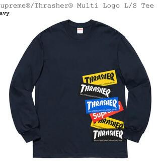 Supreme - Supreme Thrasher® Multi Logo L/S Tee