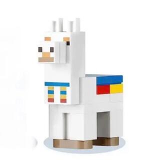 レゴ(Lego)のレゴ(LEGO) マインクラフト 21167 よりラマ2体セット(白、ベージュ)(知育玩具)