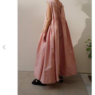 machatt メモリーボリュームドレス ワンピース