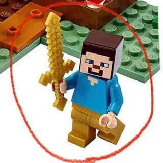 レゴ(Lego)のレゴ(LEGO) マインクラフト タイガの冒険 21162 より スティーブ(知育玩具)