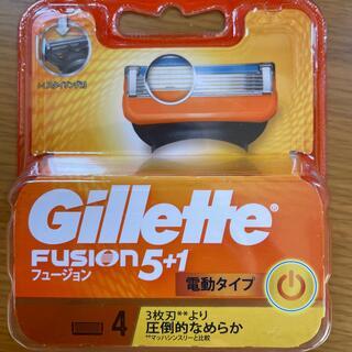 ジレ(gilet)のGillette フュージョン5+1電動タイプ替刃(カミソリ)