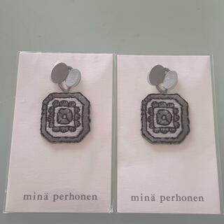 mina perhonen - minaperhonen ワッペン2枚 未使用品