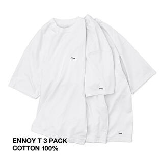 1LDK SELECT - ENNOY 3PACK T-SHIRTS WHITE 新品未使用