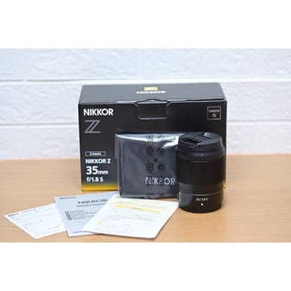 Nikon - 【新品未使用】Nikkor Z 35mm F/1.8 S