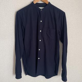 サカイ(sacai)の70%OFF OLD JOE オールドジョー バンドカラー シャツ S 濃紺(シャツ)