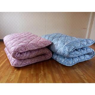 極厚 体圧分散 ホテル仕様 多層 敷布団 2枚セット 極厚 清潔 安心 日本製(布団)