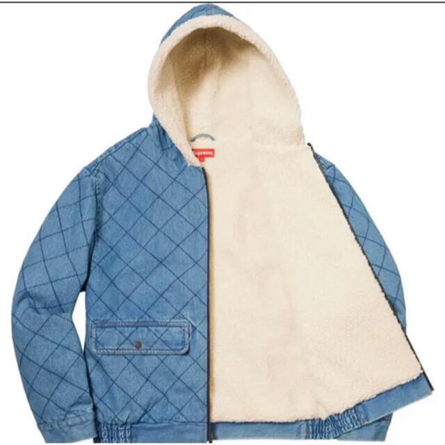 Supreme(シュプリーム)のNissy 西島隆弘 着用 ボアジャケット SUPREME 18AW  メンズのジャケット/アウター(Gジャン/デニムジャケット)の商品写真