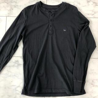 ディーゼル(DIESEL)のDIESEL ボタンフライ ロンT ネイビー(Tシャツ/カットソー(七分/長袖))