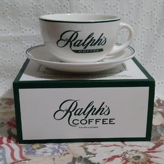 ポロラルフローレン(POLO RALPH LAUREN)の♡未使用♡Ralph's COFFEE♡コーヒーカップ&ソーサー♪(グラス/カップ)
