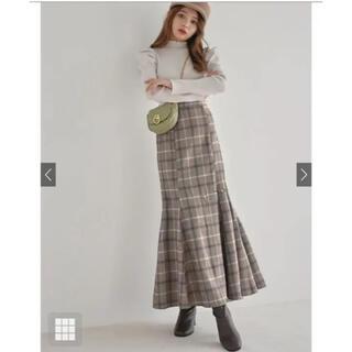 GRL - 【新品・未使用】GRL チェックマーメイドスカート