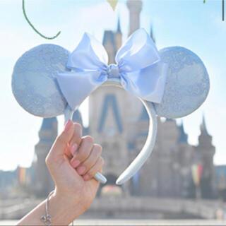 Disney - ディズニー ブルーエバーアフター カチューシャ