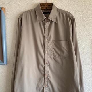 ART VINTAGE - 90s デザインシャツ 袖折り返しデザイン 長袖シャツ ポリシャツ 菅田将暉