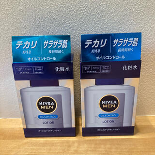ニベア(ニベア)のニベアメン オイルコントロールローション  100ml化粧水 2本(化粧水/ローション)