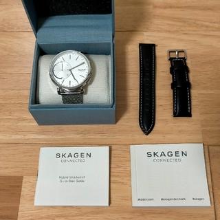 スカーゲン(SKAGEN)のSKAGEN コネクテッドウォッチ 交換ベルト付き(腕時計(デジタル))