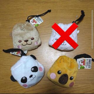 アニマルエコバッグ 動物 エコバッグ 3柄セット 新品未使用(エコバッグ)