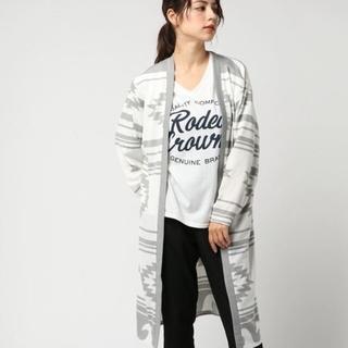 ロデオクラウンズワイドボウル(RODEO CROWNS WIDE BOWL)のオルテガ ガウン&Tシャツセット(カーディガン)