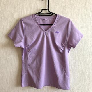 New Balance - ニューバランス Tシャツ パープル