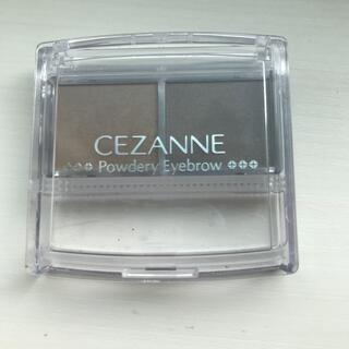 CEZANNE(セザンヌ化粧品) - セザンヌ パウダリーアイブロウP2