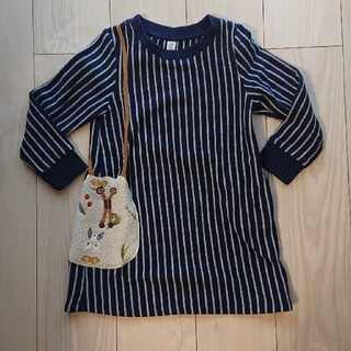 グラニフ(Design Tshirts Store graniph)のデザインTシャツストアグラニフ ワンピース 110cm(ワンピース)