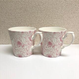 AfternoonTea - 【ほぼ未使用品】アフタヌーンティー マグカップ 2個セット 花柄 ピンク