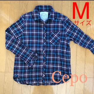 セポ(CEPO)のCepo セポ チェックシャツ レディースシャツ(シャツ/ブラウス(長袖/七分))