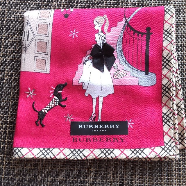 BURBERRY(バーバリー)のバーバリーハンカチ レディースのファッション小物(ハンカチ)の商品写真