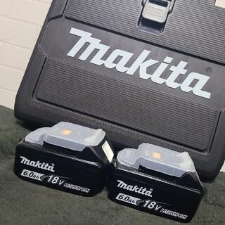 マキタ(Makita)の【新品未使用】makita(マキタ)バッテリーBL1860B 18V 6.0Ah(バッテリー/充電器)