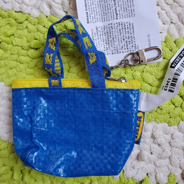 IKEA(イケア)の便利♪【新品】IKEAイケア エコバッグ フラクタ S M Lミニ 4点セット レディースのバッグ(エコバッグ)の商品写真