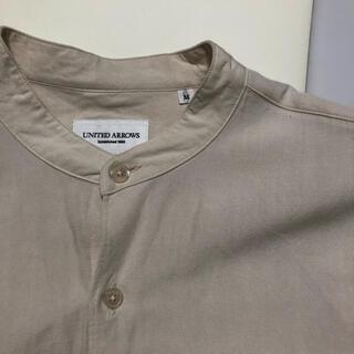 ユナイテッドアローズ(UNITED ARROWS)のUNITED ARROWS バンドカラー シャツ オーバーサイズ M(シャツ)