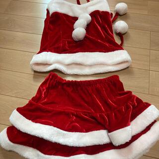クリスマスコスプレ2点セット(衣装一式)