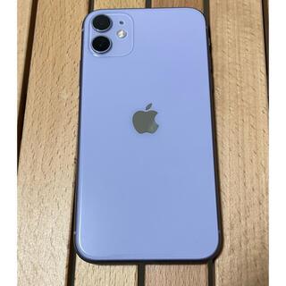 iPhone - iPhone 11 パープル 128 GB SIMフリー AppleCare +