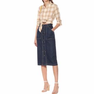 ポロラルフローレン(POLO RALPH LAUREN)のポロ ラルフローレン デニム スカート(ひざ丈スカート)