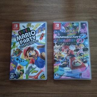 Nintendo Switch - マリオパーティ マリオカート8デラックス 任天堂スイッチソフト switch