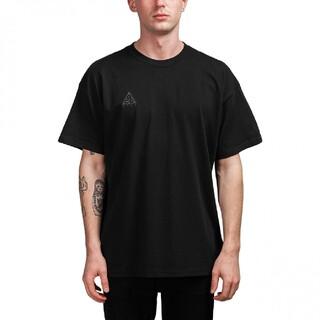 NIKE - NIKE ACG 半袖 ロゴ Tシャツ ブラック