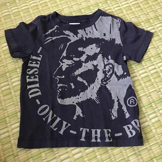 ディーゼル(DIESEL)のディーゼル 半袖Tシャツ 90 紺色(Tシャツ/カットソー)