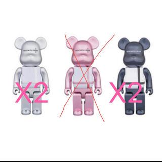 メディコムトイ(MEDICOM TOY)のbe@rbrick Medicom Toy Plus 限定 100% 4個セット(フィギュア)