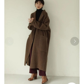 TODAYFUL - Todayful Over Check Coat チェック リバー コート