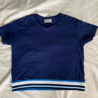 ローズバッド(ROSE BUD)のROSE BUD 半袖 ネイビー トップス(カットソー(半袖/袖なし))