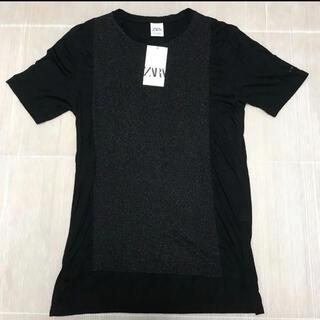ZARA - 送料無料 新品 ZARA メンズ 半袖Tシャツ M(USAサイズ)