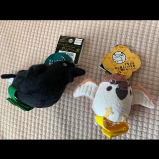 BANDAI - USJ限定 鬼滅の刃 鎹鴉 伝令カラス チュン太郎 マスコットバッジ