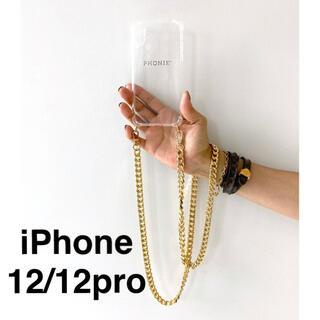 ドゥーズィエムクラス(DEUXIEME CLASSE)のMUSE【PHONIE/フォニー】 GOLD チェーンiphoneケース(iPhoneケース)