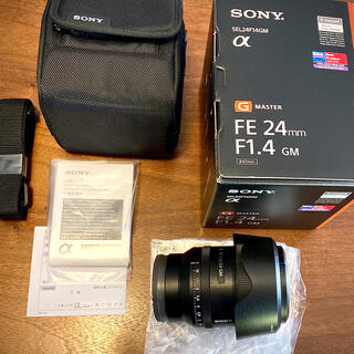 SONY - ほぼ未使用品◆SONY (FE 24mm F1.4 GM)2021年5月購入品