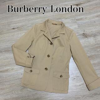 バーバリー(BURBERRY)の美品 バーバリー ロンドン ジャケット ノバチェック アウター ベージュ M(テーラードジャケット)
