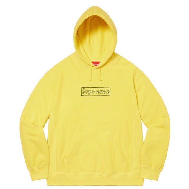 Supreme(シュプリーム)のSupreme KAWS Chalk Logo Hooded メンズのトップス(パーカー)の商品写真