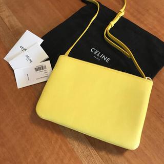 celine - 未使用品 セリーヌ トリオ ショルダーバッグ