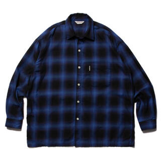 COOTIE - COOTIE Ombre Check Shirt  クーティー オンブレチェック